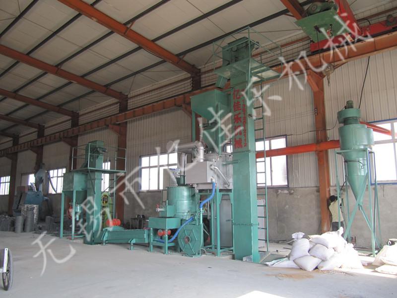 热法覆膜砂生产线(焦煤加热)