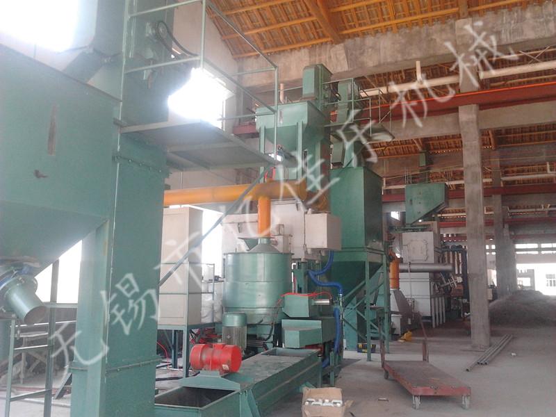 热法覆膜及再生砂生产线